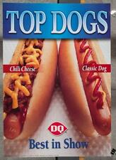Dairy Queen Promotional Poster Top Dogs Hot Dogs dq2
