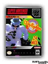 Clay Fighter: Tournament Edition Super Nintendo SNES Game Case Box Professional