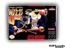 Chester Cheetah: Wild Wild Quest Super Nintendo SNES Game Case Box Professional