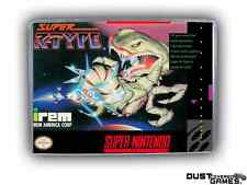 Super R-Type Super Nintendo SNES Game Case Box Professional Quality!!!