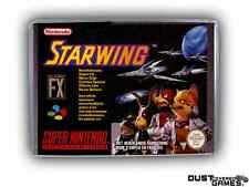 Starwing Super Nintendo SNES Game Case Box Professional Quality!!!