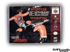ECW Hardcore Revolution Nintendo 64 N64 Game Case Box Professional Quality!!!