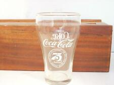 FIRST BOTTLER'S CONTRACT FOR COCA-COLA 75TH ANN. 1900-1975 NASHVILLE GLASS  (A26