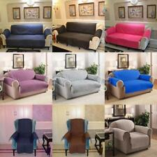 Various 1/2 /3-Seater Sofa Arm Chair Settee Protector Furniture Throw Slip Cover