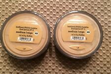TWO Bare Escentuals BareMinerals Original Foundation Medium Beige XL Ships FREE