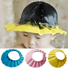 New Soft Baby Kids Children Shampoo Bath Bathing Wash Hair Shield Shower Cap Hat