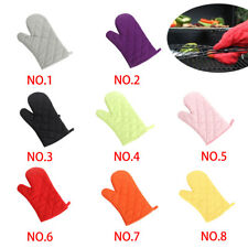 1/2Pcs Kitchen Heat Resistant Glove Oven Pot Holder Baking BBQ Cooking Mitt