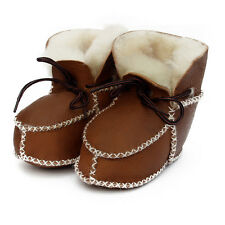 Super Warm Infant Soft Bottom Snow Boots Lace Up Baby Moccasins Shoes Baby Boots