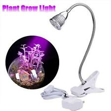Useful 5W 5LED Grow Light Hydroponic Spectrum Plant Veg Flower Veg Lamp Bulb