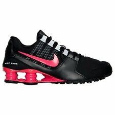 Women's Nike Shox Avenue Running Shoes Black Red Many Sizes #W116