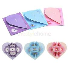 3D Pop Up Blooming Heart Flower Valentine/Bday/Wedding/Christmas Greeting Card