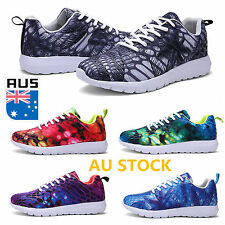 Men Women Couple Running Jogging Shoes Casual Athletic Mesh Breathable Sneakers