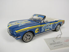 1964 1/2 FORD MUSTANG CONVERTIBLE IN UCLA BRUINS COLORS FROM FRANKLIN MINT