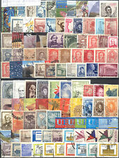 ARGENTINA SELECTION OF 100 DIFFERENT USED STAMPS. COMBINED SHIPPING