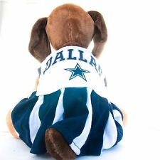 Dallas Cowboys Dog Dress Cheerleader NFL Football Official Licensed Pet Product