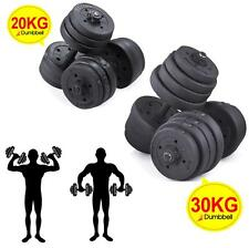 20kg/30kg Dumbbell Gym Free Weights Biceps Triceps Gym Workout Training Fitness