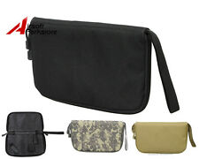 Military Tactical Portable Padded Pistol Carry Bag Handgun Holster Pouch 3colors