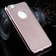 Luxury Stylish Electroplated Dotted Case  RoseGold For iPhone6 Plus {[lb62