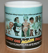 Carry on Again Doctor Coffee Tea Mug Cup Sidney James Barbara Windsor
