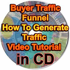 Buyer Traffic Funnel How To Generate Traffic Video Tutorial Website Visitors CD