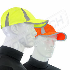 Safety Cap Reflective Accent Safety Hat NEW LIME ORANGE ANSI Jorestech New
