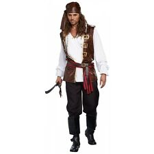 Pirate Costume Adult Halloween Fancy Dress