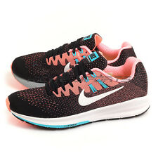 Nike Wmns Air Zoom Structure 20 Black/White-Lava Glow Running Shoes 849577-001