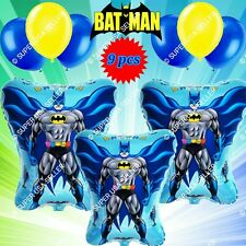 BATMAN Foil Balloons AVENGERS MARVEL HEROES H Shower Birthday Party Supplies lot