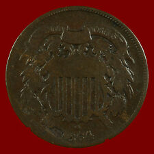 Two Cent Pieces. 1864 AG. Lot # 9011-51-023