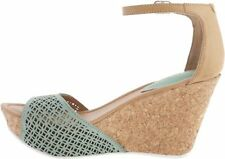 Kenneth Cole Reaction Sole Ness Leather Wedge Sandals