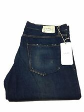 MAURO GRIFONI DENIM men's jeans mod JEFF 100 % cotone MADE IN ITALY
