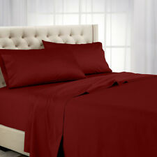 Attached Waterbed Sheets, California King OR Queen 600 TC 100% Cotton Bed Sheets
