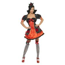 Sexy Queen of Hearts Costume Adult Halloween Fancy Dress