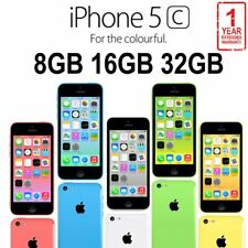 Apple iPhone 5C 8GB 16GB 32GB Factory Unlocked Smartphone - Various Colors AU