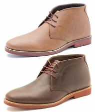 Red Tape Dorney Brown Milled Leather Mens Casual Desert Boots Brown Tan Honey
