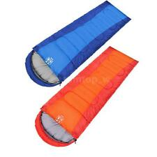 Outdoor Travel Camping Portable Sleeping Bag Autumn Winter Thermal Envelope C4A2