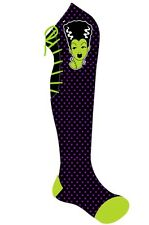 Too Fast Bolt Bride Lace Socks Bride Frankenstein Rockabilly Goth Punk Emo Rave