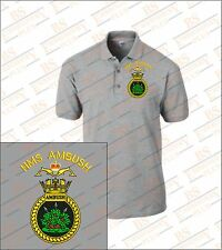 HMS Ambush Embroidered Polo Shirts