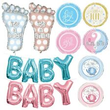 BABY SHOWER BALLOONS -Foil,Latex,Helium,Party Supplies,Pink,Blue,Unisex,Boy,Girl