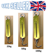 NEW 100KG/50KG POCKET SPRING BALANCE SCALE WEIGHING SCALES  FISHING LUGGAGE