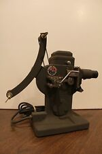 Vintage DeVry Portable Movie Film Projector with Original Manual