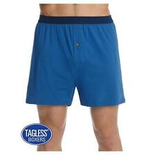 Hanes Men's TAGLESS ComfortSoft Knit Boxers with ComfortSoft Waistband 5-Pack