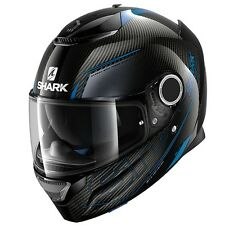 SHARK SPARTAN CARBON SILICIUM DBA FULL FACE MOTORCYCLE HELMET