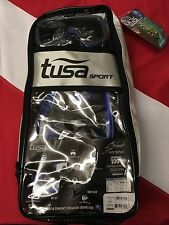 Tusa Sport Blu/Black Snorkel Fin mask equipment travel adjustable scuba UP3521QB