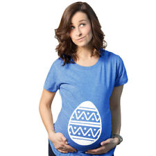 Maternity Easter Egg Bump Funny Spring Boy Pregnancy Announcement T shirt