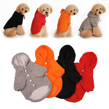 Pet Dog Cat Hoodie Puppy Clothes Sweater Jacket Coat Costumes Winter Warmer AY