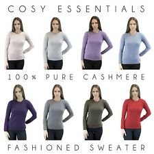 Ladies Jumper 100% Pure Cashmere Fashioned Ladies Sweater Design in Scotland