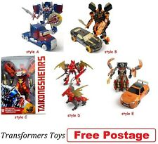 NEW Transformers Age of Extinction Generations Leader Class Optimus Prime Figure