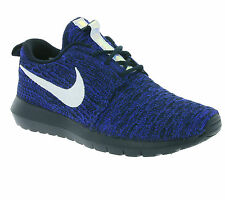 NEW NIKE WMNS Roshe NM Flyknit Shoes Women's Sneakers Sneakers Blue 843386 404