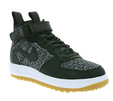 NEW NIKE Lunar Force 1 Fkyknit Workboot Trainers Sneakerboots Black 855984 001